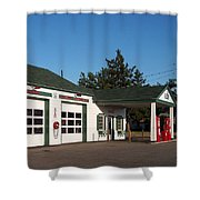 Rt 66 Gas Station 2 Shower Curtain
