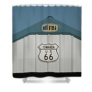 Rt 66 Towanda Plague Shower Curtain