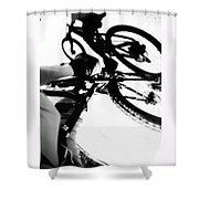 Rubber Side Down Shower Curtain