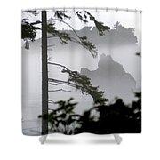 Ruby Beach Washington State Shower Curtain