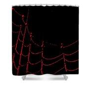 Ruby Dew Shower Curtain