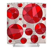 Ruby Tuesday Shower Curtain