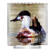 Ruddy Two Shower Curtain