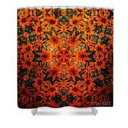 Rudi 2 Texture Shower Curtain