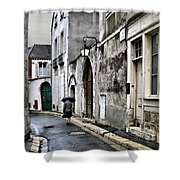 Rue A Chartres Shower Curtain