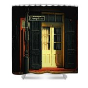 Rue Dauphine New Orleans Shower Curtain
