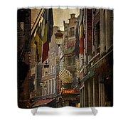Rue Des Bouchers Shower Curtain