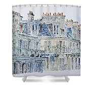 Rue Du Rivoli Paris Shower Curtain