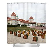 Ruegen Island Beach - Germany Shower Curtain