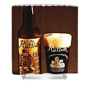 Ruffian Ale Shower Curtain