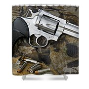 Ruger Security Six Stainless Shower Curtain