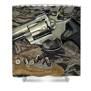 Ruger Security Six Still Life Shower Curtain