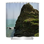 Rugged Cliff  Shower Curtain