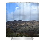 Rugged Ireland Shower Curtain