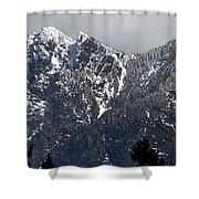 Rugged Mountain Shower Curtain