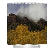 Ruggedness Unveiled Shower Curtain