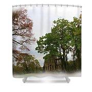 Ruins Shower Curtain