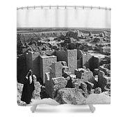 Ruins Of Babylon Shower Curtain