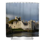 Ruins Of Desmond Castle Shower Curtain