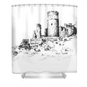 Ruins Of Furstenburg Castle Shower Curtain