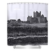 Ruins Of Irish Abbey Shower Curtain