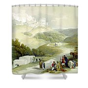 Ruins Of The Church Of St. John Sabaste 1839 Shower Curtain