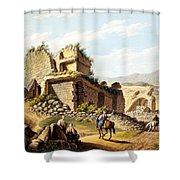 Ruins Of The Stadium, 1790s Shower Curtain