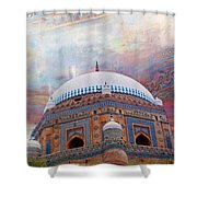 Rukh E Alam Shower Curtain by Catf