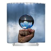 Rule The World - Featured 3 Shower Curtain by Alexander Senin
