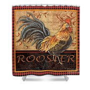 Ruler Of The Roost-1 Shower Curtain