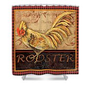 Ruler Of The Roost-2 Shower Curtain