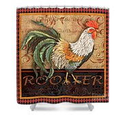 Ruler Of The Roost-3 Shower Curtain
