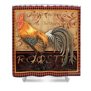 Ruler Of The Roost-4 Shower Curtain