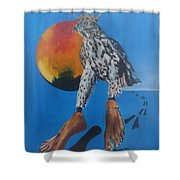 Rulers Shower Curtain by PainterArtist FIN