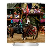 Rules Of Engagement Shower Curtain