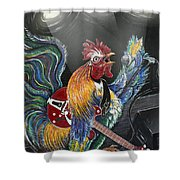 Rulin' The Roost Shower Curtain