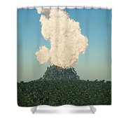 Rumble... Shower Curtain
