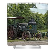 Rumely Mom And Son Shower Curtain