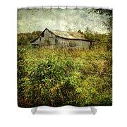 Run Down Barn Shower Curtain
