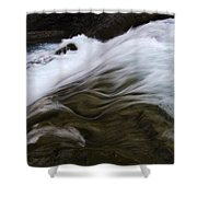 Run River Run 1 Shower Curtain
