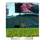 Run To Home Base 2012 Shower Curtain
