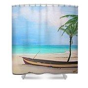Runaway Bay Shower Curtain