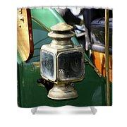 Oil Lamp Running Light Shower Curtain