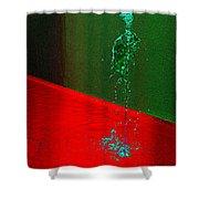 Running Water Man Shower Curtain