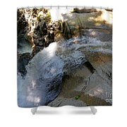 Running Waters Of Sabbaday Falls Shower Curtain