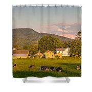 Rupert Vermont Dairy Farm Shower Curtain