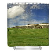 Rural Beauty At Andalusia Shower Curtain