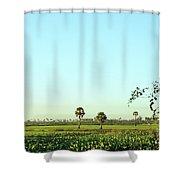 Rural Cambodia Shower Curtain