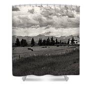 Rural Church Shower Curtain