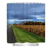 Rural Drama.. Shower Curtain